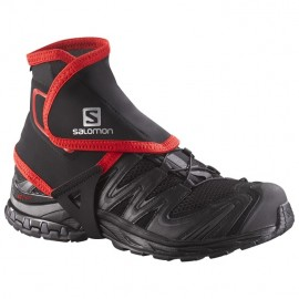 Trail Gaiters High Black / Red