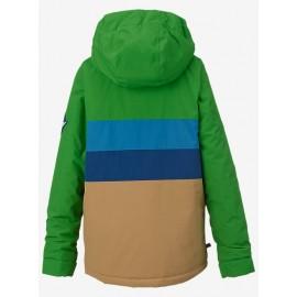Boys Symbol Jk Slime Block Giacca Verde/Azz/Beige Junior Bimbo