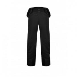 Calgary Pantalone C/Bretelle Softshell Nero Uomo