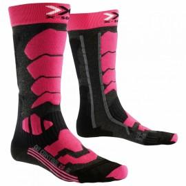 X-Socks Ski Control 2.0  Anthracite/Fuchsia Donna