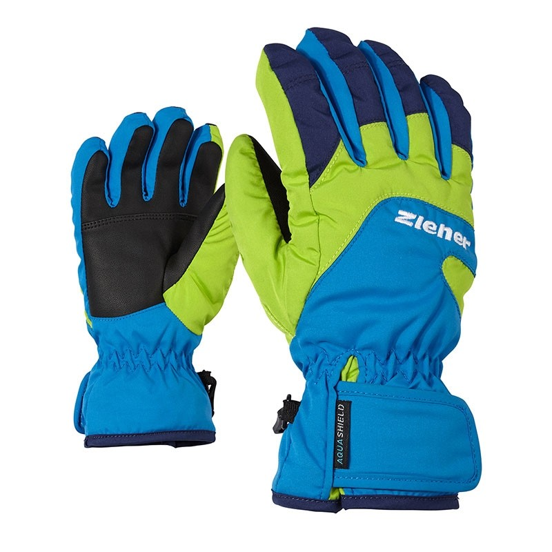 Lizzard As Girls Glove Junior Persian Blue Bimbo