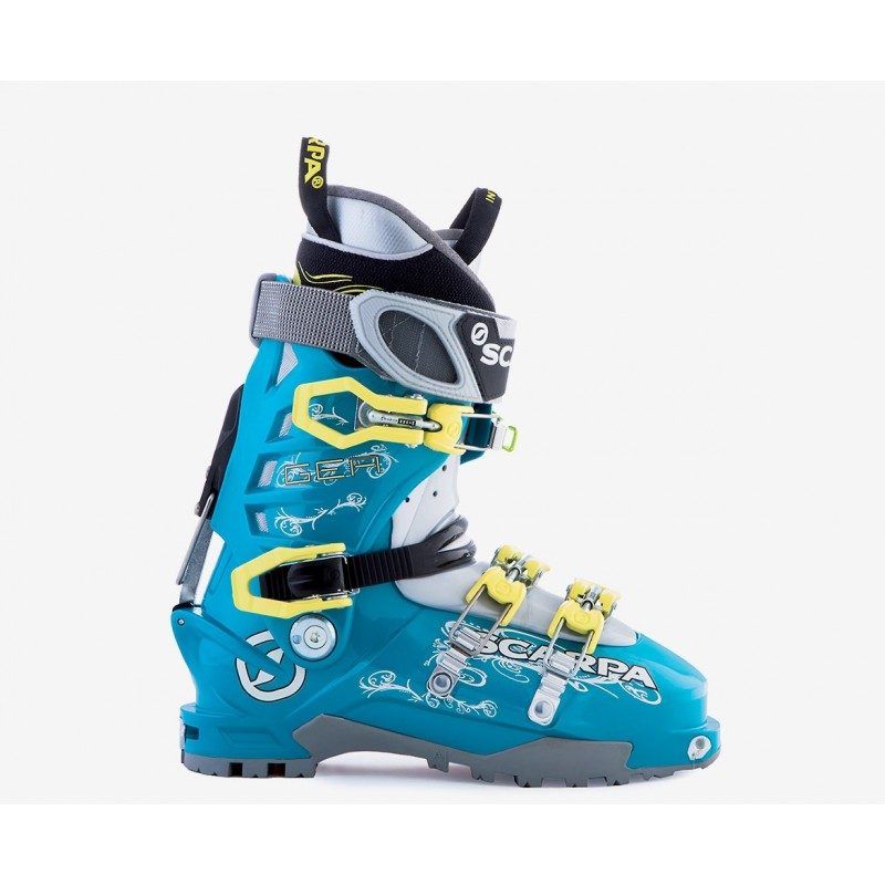 SCARPA GEA LAKE BLUE LIME LIGHT