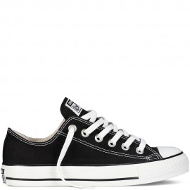 All Star Ox Black Bassa Tela Nera Donna