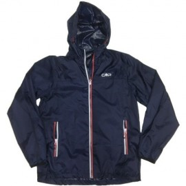 Cmp Man Fix Hood Rain Jacket Uomo - Giuglar Shop
