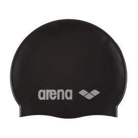 Arena Classic Silicone Cuffia Nera
