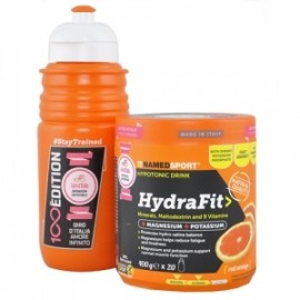 Hydrafit Red Orange Sali 400Gr Arancia Rossa Con Borraccia