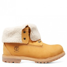 Auth Teddy Fleece Wp Stivaletto Giallo Int. Montone Donna