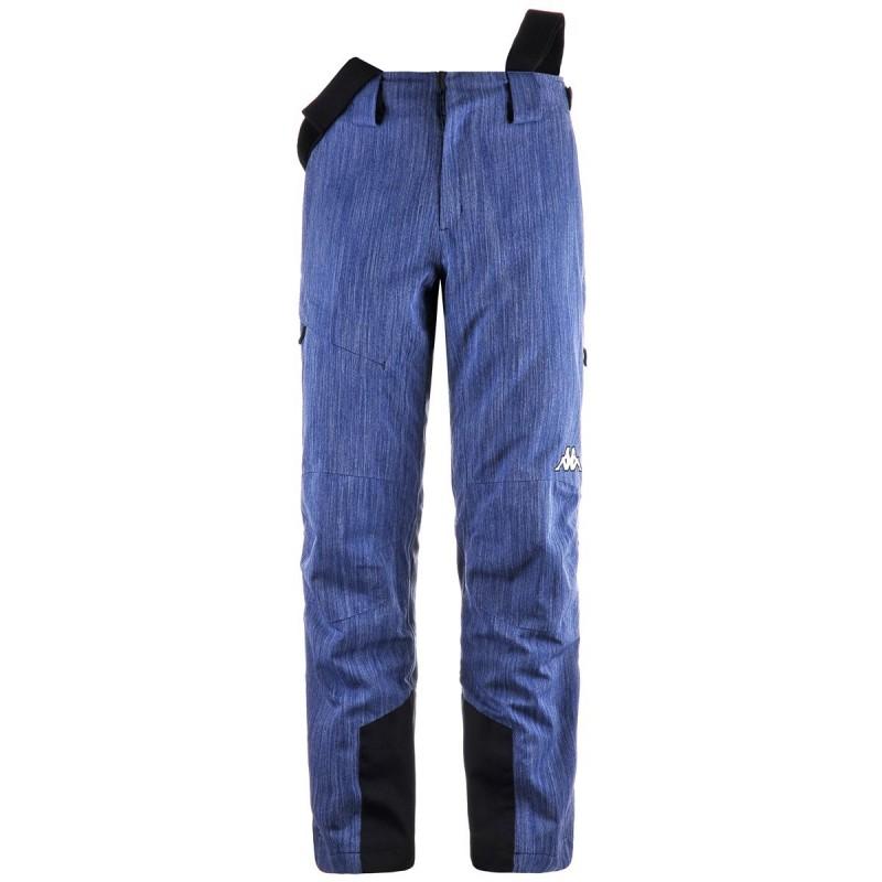 6Cento 665A Denim Pantalone Sci C/Bretelle Uomo