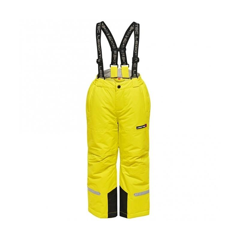 Pilou 770 Pantalone Sci Con Bretelle Lime Junior Bimbo