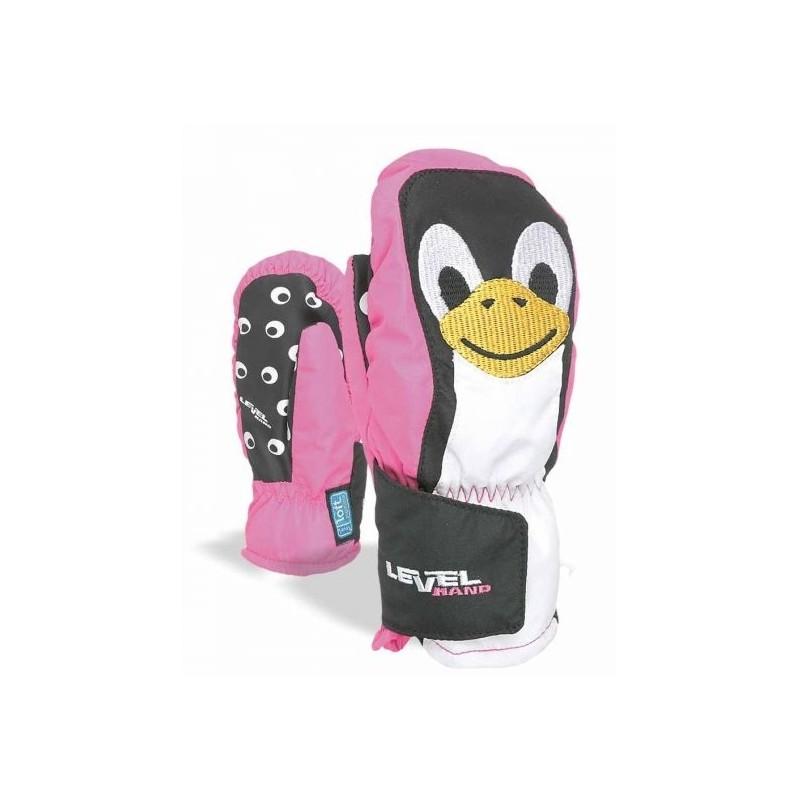 Animal Moffola Pinguino Fuxia Baby Bimba