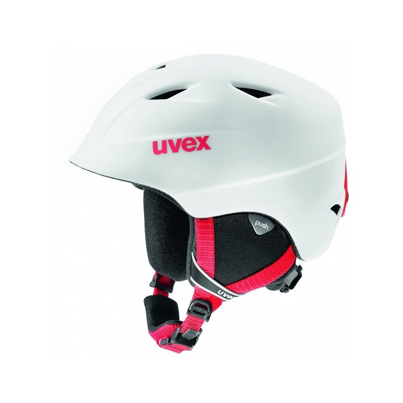 Uvex Airwing 2 Pro Bianco/Rosso Opaco