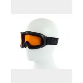 Uvex Splash Black Maschera Nero Lente Arancio S1