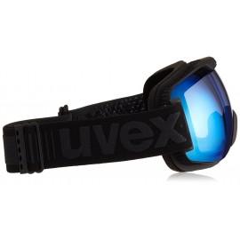 Uvex Downhill 2000 Fm Nero Opaco Lente Specchio Blu S2