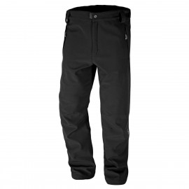 Boy Softshell Pantalone Outdoor Nero Junior
