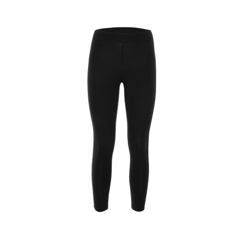 Pantalone Leggings 7/8 Nero Scritta Polpaccio Junior  Bimba