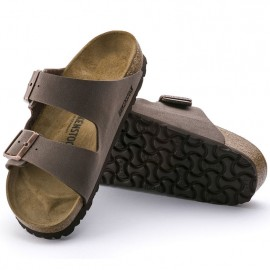 Arizona Bs Ciabatta Due Fibbie Mocca Marrone Unisex