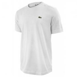 Lacoste T-Shirt M/M Girocollo Cotone/Poliestere Bianca Uomo