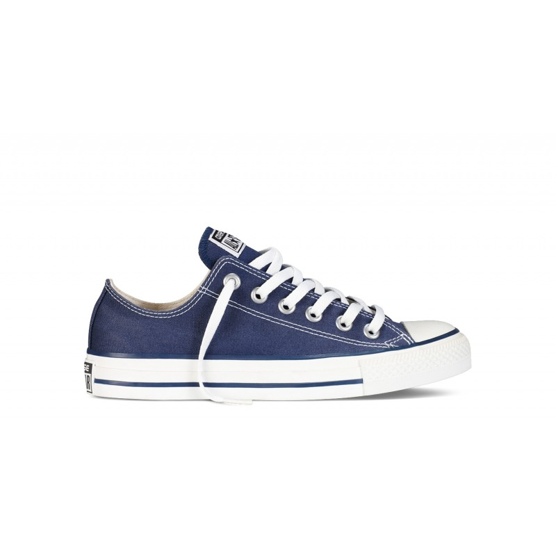 All Star Ox Navy Canvas Bassa Blu