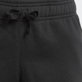 Pantalone Polsino Cotone Felpato Nero Junior Bimbo