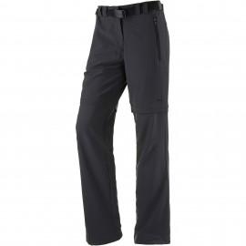 CMP Stretch Long Pantalone Convertibile Stretch Antracite Donna