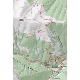 Cartina Valle Gesso Parco Naturale Alpi Marittime