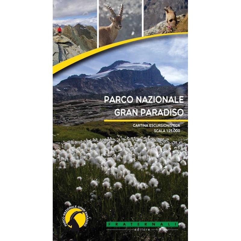 Cartina Parco Nazionale Gran Paradiso