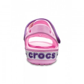 Crocband Sandalo Rosa/Viola Junior Bimbo