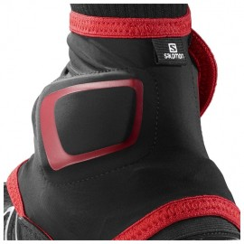 Salomon Trail Gaiters High Black / Red