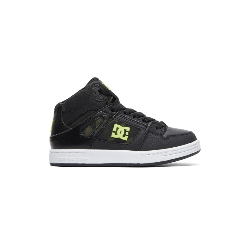 Pure High-Top Se Scarpa Mid Nero/Camoufage Scuro Bambino