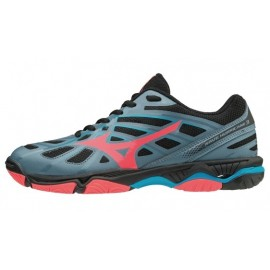Wave Hurricane 3 Scarpa Volley Grigio/Corallo/Blu Donna