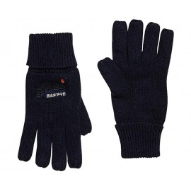 Orange Label Glove Guanti In Maglia Blu Scuro