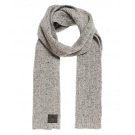 Surplus Goods Tweed Scarf Sciarpa In Maglia Grigio Melange