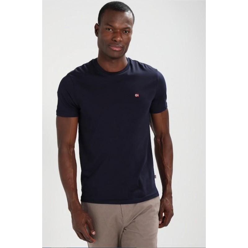 Senoos Crew T-Shirt M/M Blu Uomo