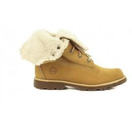 6 In Wp Shearling Boot Giallo Interno Pecora Bambina