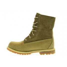 Auth Teddy Fleece Taupe Boot Int Lana Nocciola Donna