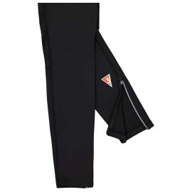 Woman Long Tights Fuseaux Running Nero Donna