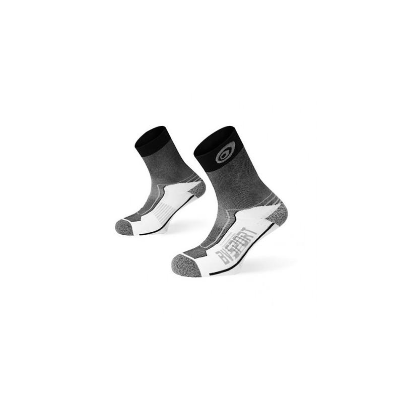 Double Calza Media Antivescica Bianco/Nero/Grigio