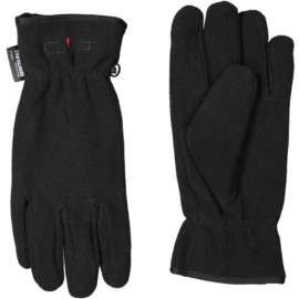 Man Fleece Gloves Nero Pile Unisex