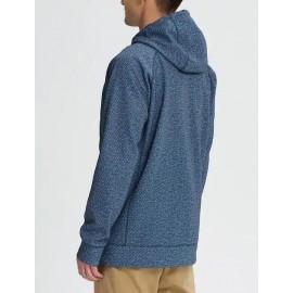 Mb Crown Bonded Fz Felpa Softshell Zip Capp Azzurra/Blu Uomo