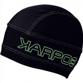 Karpos Alagna Cap Cappello Softshell Nero/Verde - Giuglar Shop
