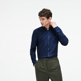 Lacoste Camicia Regular Fit Blu Uomo