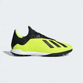 Adidas X Tango 18.3 Tf Scarpa Calcetto Giallo Fluo/Nero Uomo