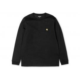 Carhartt L/S Chase T-Shirt M/L Nera Uomo
