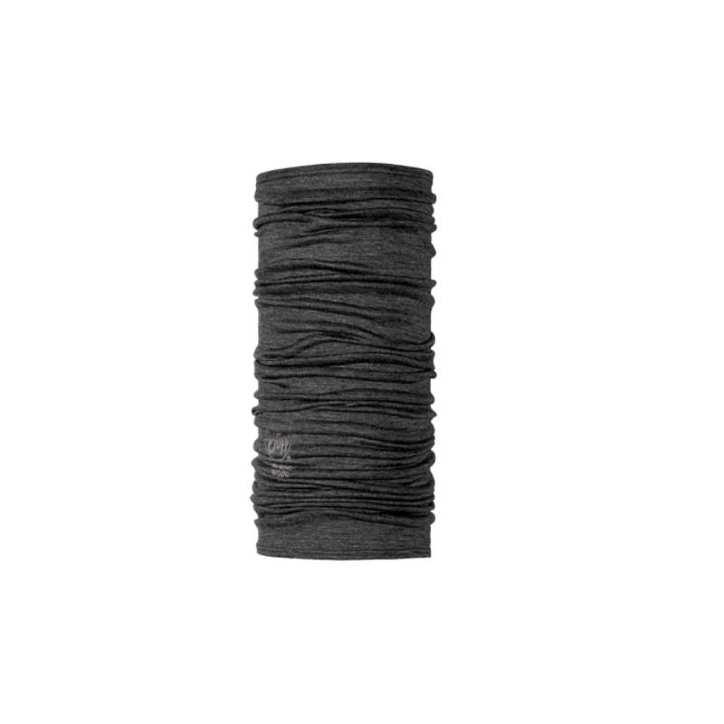 Buff Ligthweight Merino Wool Solid Grey-Giuglar Shop