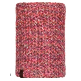 Buff Knitted & Polar Neckwarmer Margo Flamingo Pink Maglia