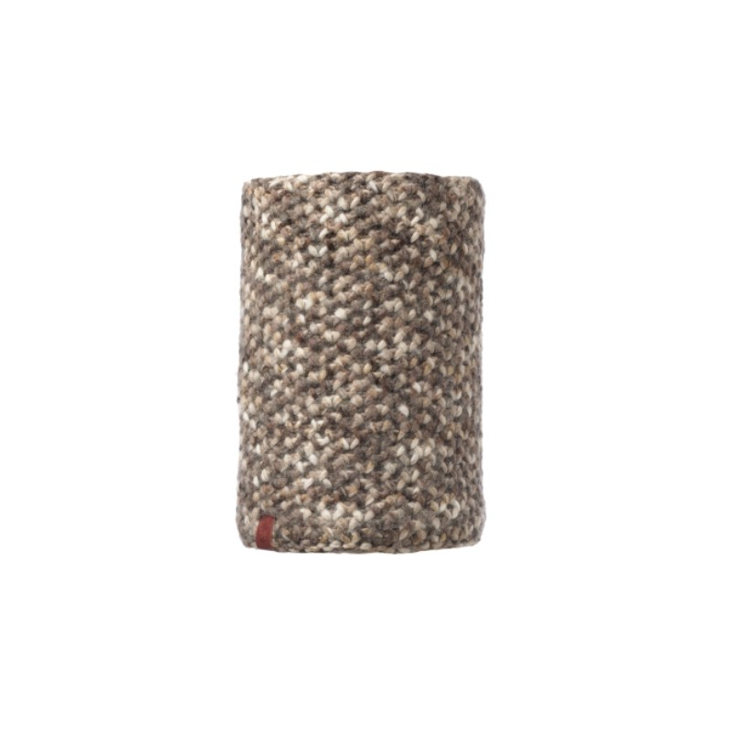 Buff Knitted & Polar Neckwarmer Margo Brown Taupe Maglia