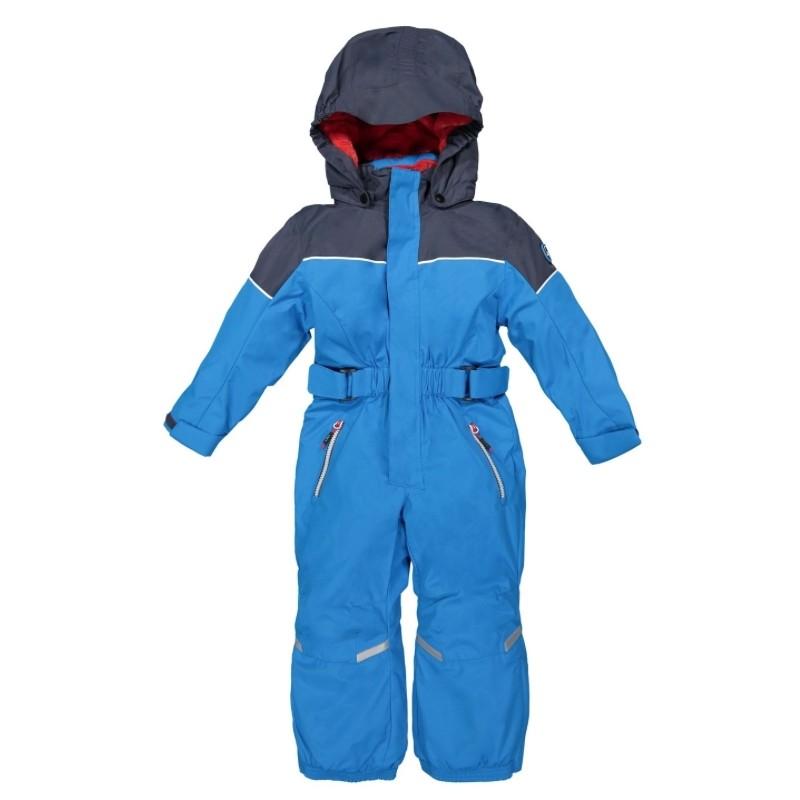 Child Overall Tuta Sci Intera Azzurra/Blu Baby Bimbo