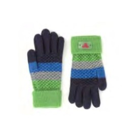 Jail Jam I Bands Gloves Guanto Maglia Righe Blu/Azz/Ver Junior