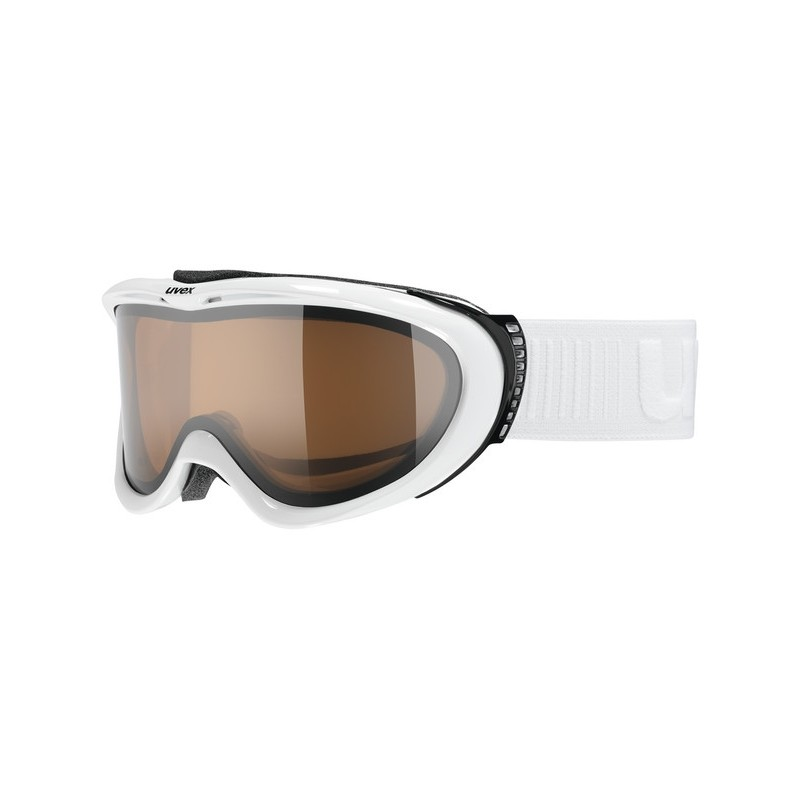 Uvex Comanche Optics Bianco Lente Arancio S1