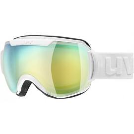 Uvex Downhill 2000 Fm Bianco Opaco Lente Verde/Giallo S2